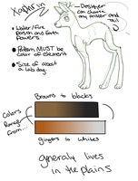 Xaphrin Species Sheet by Inked-Owl
