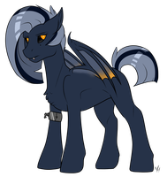 Vampire Bat Pony Adoptable SOLD by Kobayashi-Maruu