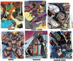 Colossal Kaiju Combat Trading Card Sample 6 by fbwash