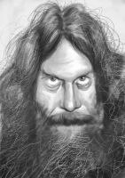 Alan Moore by Parpa