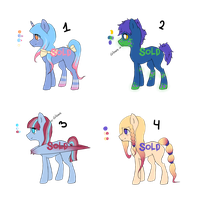 Pony Adoptables #002: CLOSED by Raponee