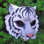 White Tiger Mask by merimask