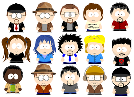 TGWTG South Park by MoonRockProductions