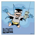 Bat Mite Album Homage by BillWalko