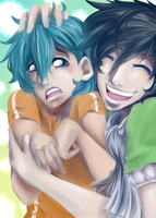 Brotherly Love by Mochiibon