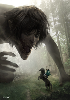 Attack on Titan by MOROTEO56