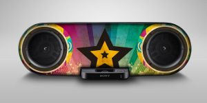 + 2 Sony Star Trik by brainlessinc
