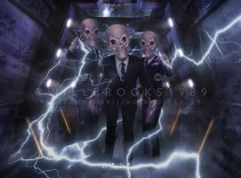 Doctor Who Experience - Silence Postcard by willbrooks