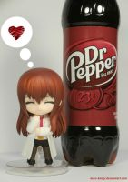 Kurisutina loves her Dr. Pepper by Kuro-Kinny