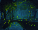 Festival of the Fireflies by Yufika