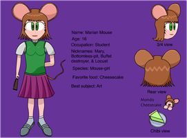 Mary Mouse by princeshadow13