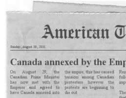 Annexation of Canada by the Empire by Beastboss