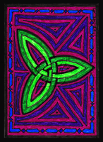 Celtic Knot ACEO 11 by Siobhan68
