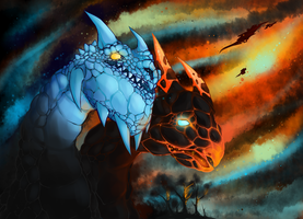 Enter the Dragons by KillerConfettiLick