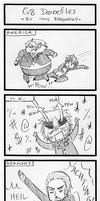-comic- Russia's G8 Doodles by ItaLuv