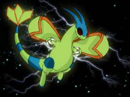 shiny flygon by Elsdrake