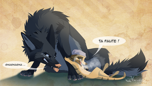 Ta faute ! by hecatehell