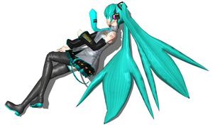 Hatsune Miku Unconscious 4 by FallenParty