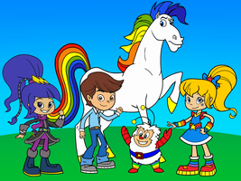 RB and the gang from Feeln's Rainbow Brite by rainbow00brite