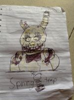 Springtrap from Five Nights at Freddy's 3 by DarkNinja49