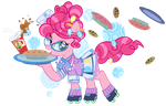 1950s Pinkie Pie- Pi Day 2014 by PixelKitties