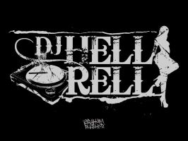 DeeJay Hell Rell Logo Concept 2 by GrahamPhisherDotCom