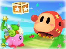 KBY-Waddle Dee? by Mikoto-Tsuki
