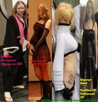 Past and Present Cosplays by Halibel-is-l33t