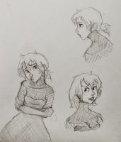 sketches for askthecabingirl by niitsvee