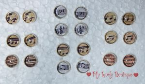 Music Earrings by TheLovelyBoutique