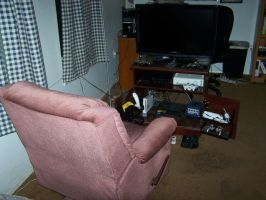 Gaming area by SuperTailsHero