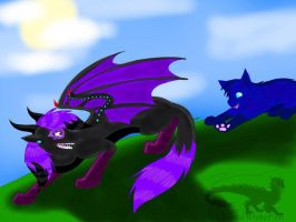 ART TRADE-Friends at Play by ShardianofWhiteFire