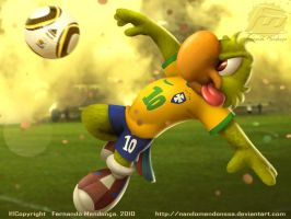 Ze Carioca World Cup 2010 by nandomendonssa