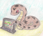 Adder with Abacus by ToxicWyvern