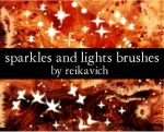 Sparkles and Lights Brushes by reikavich