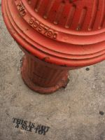 Hydrant...captioned by GingerBedlam