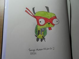 Teenage Mutant Ninja Gir 2.0 by Taco-Cheese-Dog