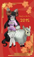 Lunar New Year 2015 by ZzVinniezZ