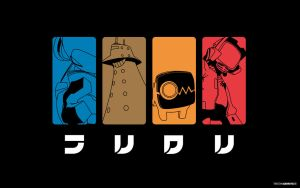 FLCL - Robots Wallpaper by Pencil-Dragonslayer