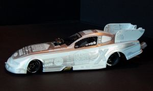 Courtney Force Ice Series Funny Car by RufusInk2011
