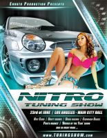 Nitro Tuning Show flyer version 4 PSD by naranch