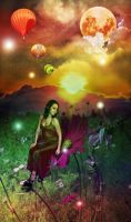 Dreams For a Colorful World by lovehate-eternal