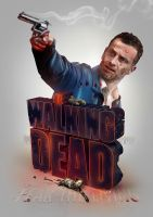 The Walking Dead Print by pete-aeiko