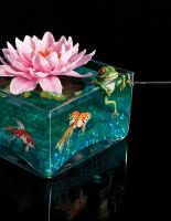 Lotus Flower Centerpiece 2 by Battledress