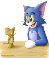 Tom and Jerry by Kampidh
