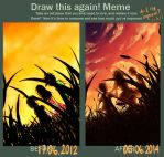 Draw Again Meme - Like That One Summer Memory by xadako