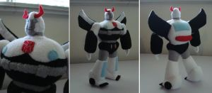 Custom plush - G1 Prowl by silentorchid