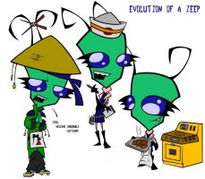 The Evolution of a Zeep by Half-dude