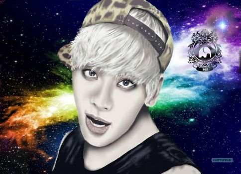 Jonghyun from SHINee by FR7RBAIN