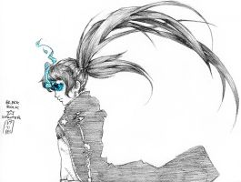 100DAYS10- Black Rock SHooter by Mainframe110